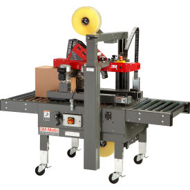 """3M-Matic Side Belt Adjustable Case Sealer 8000a with 2"""" AccuGlide 3 Taping Head by"""
