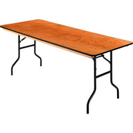 """Folding Banquet Table - 72"""" x 30"""" - Plywood"""