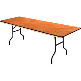Interion™ Plywood Folding Banquet Table 96= L x 30= W