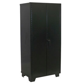 Heavy Duty Storage Cabinet  60 x 24 x 78, Black