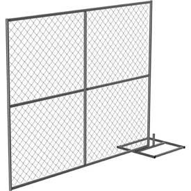 Galvanized Construction Barrier, Add-On Unit