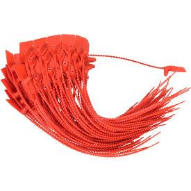 Vestil Sealed - Do Not Remove Security Seals, Red, 100/Pack