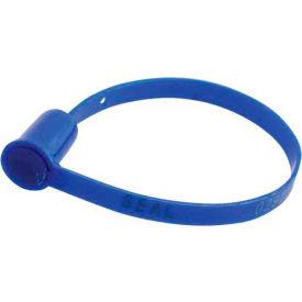"""Vestil SECS-F7-BL Security Seals, """"Sealed""""  Blue, 100/Pack"""