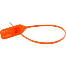 """Vestil SECS-L11-RD Security Seals, """"Sealed"""" Red, 100/Pack"""