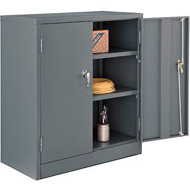 Global™ Counter Height Cabinet Easy Assembly 36x18x42 Gray