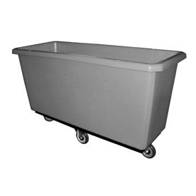 Bayhead Products Gray Poly Box Truck 11 Bushel Capacity