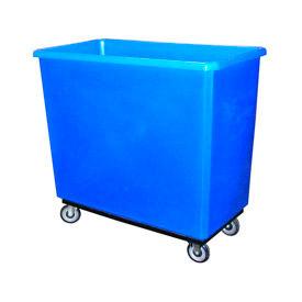 Bayhead Products Gray Poly Box Truck 17 Bushel Capacity