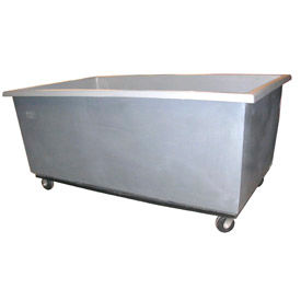 Bayhead Products Gray Poly Box Truck 50 Bushel Capacity