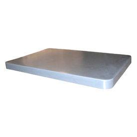 Optional Gray Lid for Bayhead Products Poly Box Truck 6 Bushel Capacity