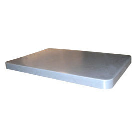 Optional White Lid for Bayhead Products Poly Box Truck 6 Bushel Capacity