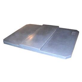 Optional Gray Lid for Bayhead Products Poly Box Truck 10 Bushel Capacity
