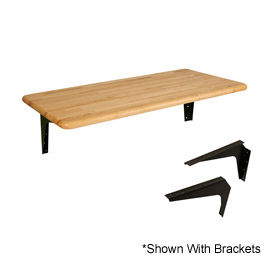 "ADA Locker Room Hardwood Bench Top, 42""W x 20""D"