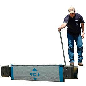 "Bluff® EZ-Pull Mechanical Edge of Dock Leveler 30EP66 66"" Usable W 30,000 Lb. Cap."