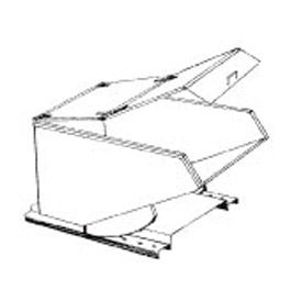 Type B Hinged Lid for MECO 1/3 Cu. Yd. Hopper