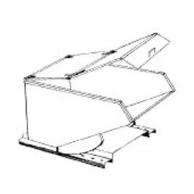 Type B Hinged Lid for MECO 1/4 Cu. Yd. Hopper