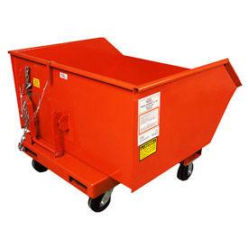 8 x 2-1/2 MORT Caster Kit for MECO 90 Series Self Dumping Hoppers