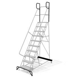 "CAL-OSHA KIT 10-12 Step Ladders - 24"" w Steps/30"" D Platform"