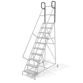 "CAL-OSHA KIT 5-9 Step Ladders - 24"" w Steps/20"" D Platform"