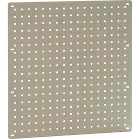 "Heavy Duty Steel Pegboard 18"" x 19"" Tan"