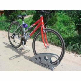 """RackiT™ Boot Bike Rack, Galvanized Steel, 25-5/8""""L x 2-5/8""""W x 11-1/16""""H"""