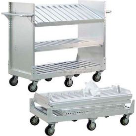 "New Age 50212 ""Test Drive"" Adjustable Aluminum Shelf Truck 800 Lb. Cap."