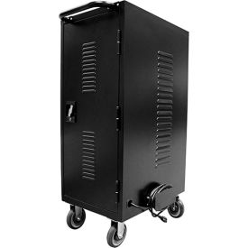 HamiltonBuhl 30-Bay Tablet, iPad And Chromebook Charging & Storage Cart