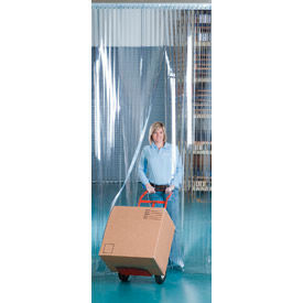 """Aleco® Visi-Guard Strip Door 455999 8' x 8' with 8"""" Strips"""