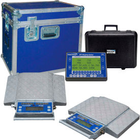 Intercomp 181040-RFX PT300™ Wireless Solar Wheel Load Scale Sys w/4 Pads, 80000 x 20 lb