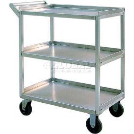New Age 97769 Aluminum Correctional Duty Utility Cart 32-1/2 x 18-1/2 550 Lb Cap