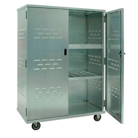 New Age 98167 Aluminum Solid Security Cage Truck 49 x 26 x 72