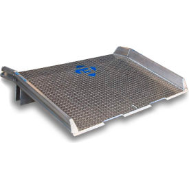 Bluff® Speedy Board® Aluminum Dock Board, Welded Aluminum Curb 15ATD7236 72x36 15,000 Lb.