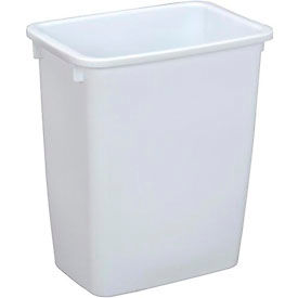 Rubbermaid® Wastebasket 2805 21 Quart, White