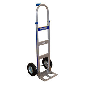 Wesco® Cobra-Lite Aluminum Hand Truck 220324 Pin Handle Semi-Pneumatic