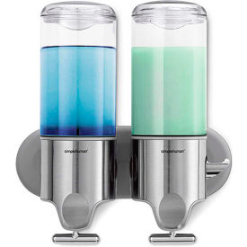 simplehuman Twin Wall Mount Soap Pump
