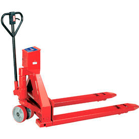 Intercomp PW800 Pallet Scale Truck 27 x 48 5000 Lb. Cap