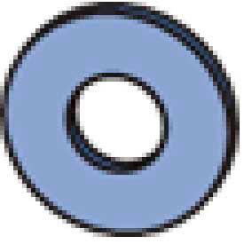 """Unistrut Channel Flat Washer Hflw050eg,1/2"""" - Pkg Qty 250"""