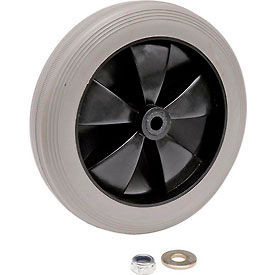 """Replacement 8"""" Rear Wheel for Janitor Cart (Models 603574, 603590)"""