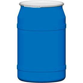 how to open a blue plastic barrel