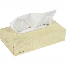 Cascades North River® Facial Tissue Flat Box - 100 Sheets/Box, 30 Boxes/Case