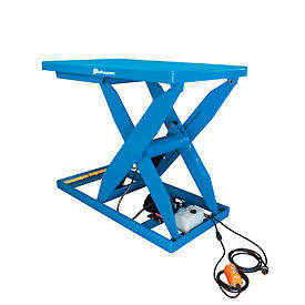 Bishamon® Lift5K Power Scissor Lift Table 56x32 5000 Lb. Cap. Hand Control L5K-3256