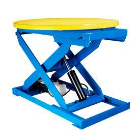 "Bishamon® Lift2K Lift Table 43"" Dia. Turntable 2000 Lb. Cap. Hand Control L2K-TT-H"