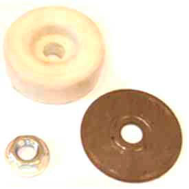 K-TEC Polyurethane Friction Pad Assembly for Floor Lock