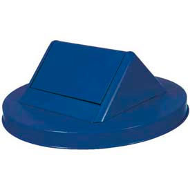 Steel Swing Lid for Mesh Garbage Can - Blue - SWT55BL
