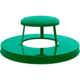 Steel Rain Cap Lid - Green