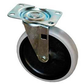 """Replacement 5"""" Swivel Caster 4501-L2 for Rubbermaid® Plastic Service Carts"""