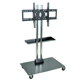 "Optional Middle Shelf for 65"" Mobile Flat Panel Stand"