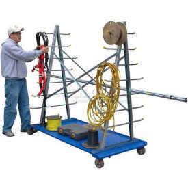 Vestil A-Frame Storage Cart AFSR-3672 2000 Lb. Capacity