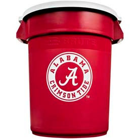 Rubbermaid® Brute 32 Gallon Alabama Garbage Can with Lid