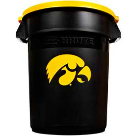 Rubbermaid® Brute 32 Gallon Iowa Garbage Can with Lid