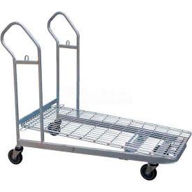 Vestil Nestable Wire Platform Shopping Cart WIRE-M